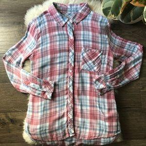 Rails Hunter Plaid Shirt Size XS